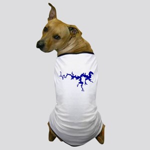 NACI DRAGON [blue] Dog T-Shirt
